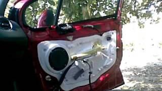 getlinkyoutube.com-Peugeot 308 Door Panel Removal , Cum desfacem un panou usa fata Peugeot 308