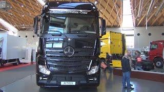 getlinkyoutube.com-Mercedes-Benz Actros 1848 4x2 Tractor Truck (2016) Exterior and Interior in 3D