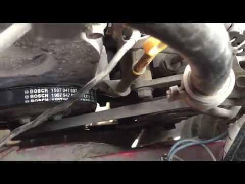 Замена ремня генератора Mazda REVUE (Mazda 121 DB)