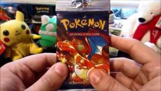 getlinkyoutube.com-EPIC! Opening a CHARIZARD Pokemon Base Set Booster Pack! INSANE Pull!
