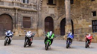 getlinkyoutube.com-2016 Kawasaki ZX-10R takes on superbike rivals| Group Tests | Motorcyclenews.com