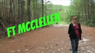 Abandoned & Exploring  Ft. McClellean Alabama Part One