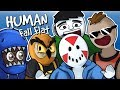Human Fall Flat - SUPER PUZZLE SOLVERS! Funny Moments