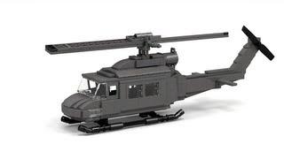 getlinkyoutube.com-Lego UH-1 Huey, Vietnam Instructions