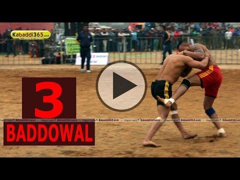 Baddowal (Ludhiana) Kabaddi Tournament 25  Jan 2015 Part 3 by Kabaddi365.com
