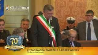 getlinkyoutube.com-Comune di Anzio - Cittadinanza Onoraria a Roger Waters - 18 Febbario 2014