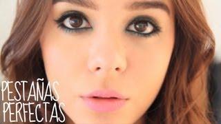 getlinkyoutube.com-Maquillaje de noche ♥¿Como poner pestañas postizas?