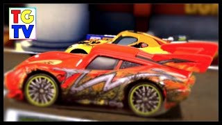 getlinkyoutube.com-Cars Lightning McQueen vs Miguel | Fast as Lightning