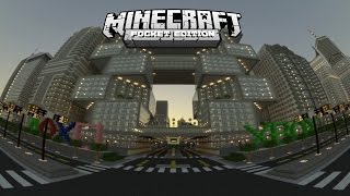 getlinkyoutube.com-CIDADE NO MINECRAFT PE 0.12.1 [MAPA]