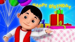 getlinkyoutube.com-happy birthday song | birthday song | nursery rhymes | cake song | 3d rhymes | childrens rhymes
