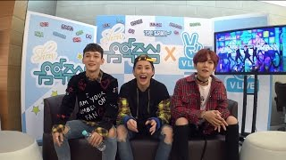161105 EXO CBX Reaction To EXO CBX Stage