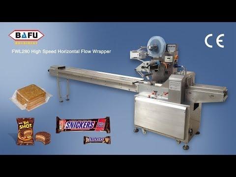 máquina de pan envasado, empaquetadora de la torta, máquina de envasado de galletas
