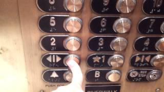 Historic Otis Series 2 High Speed Elevators at Drury Plaza Hotel in San Antonio, TX