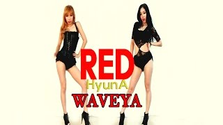 getlinkyoutube.com-Waveya HYUNA RED (빨개요) kpop cover dance