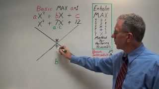 getlinkyoutube.com-Factoring Trinomials - Basic MAX - Full Explanation