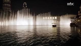 getlinkyoutube.com-شاهد إحتفالية برج خليفة بأعلام الإمارات والسعودية على أغنية قمة الحب   #عزكم_عزنا
