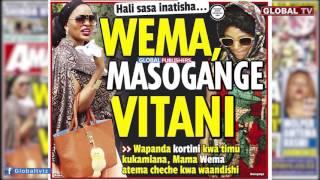 getlinkyoutube.com-Wema Sepetu Vitani na Masogange baada ya Sauti ya Wema Kusambaa
