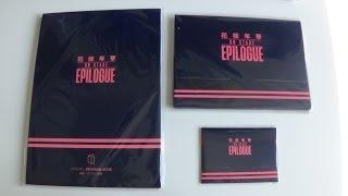 Unboxing BTS (Bangtan Boys) Live 화양연화 On Stage Epilogue Goods (Program Book, Photo & Photo Card Set)