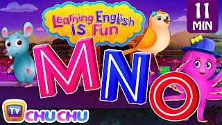 MNO Songs | ChuChu TV Learning English Is Fun™ | ABC Phonics & Words Learning For Preschool Children