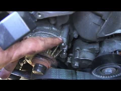 DIY BMW E46 how to change water pump and thermostat