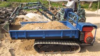 getlinkyoutube.com-運搬車をダンプに改造