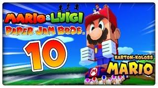 getlinkyoutube.com-MARIO & LUIGI PAPER JAM BROS. Part 10: Karton-Koloss Mario vs. Faltgigant-Gumba