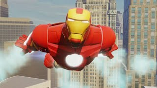 getlinkyoutube.com-Disney Infinity 2.0 - Marvel Super Heroes - Iron Man Crossover Coins & Missions - Spider-Man Part 12