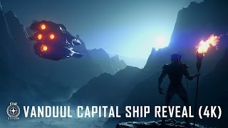 "Star Citizen - Vanduul ""Driller"" Captal Ship Reveal"