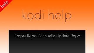 getlinkyoutube.com-Kodi Empty Repo