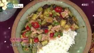 최고의 요리비결 플러스 - [정성원의 추천 레시피] 가지덮밥