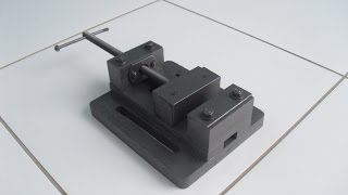 getlinkyoutube.com-Morsa para Furadeira de Bancada (Drill Press Vise)