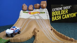 getlinkyoutube.com-Boulder Bash Canyon Extreme Shoxx From Hot Wheels