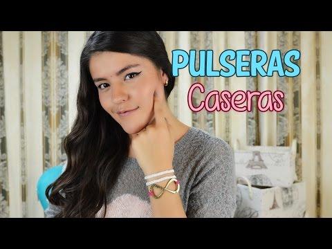 HERMOSAS PULSERAS EN CASA | DIY MUSAS