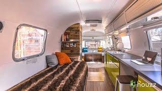getlinkyoutube.com-Man Turns '70s Airstream Into a Cool, Happy Home