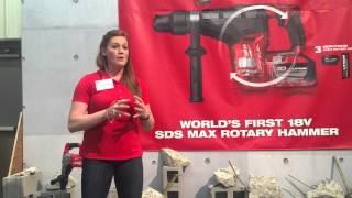 getlinkyoutube.com-Milwaukee Tool SDS MAX Rotary Hammer