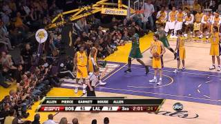getlinkyoutube.com-Boston Celtics' amazing 24 point comeback vs Lakers (2008 NBA Finals Game 4)
