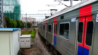 getlinkyoutube.com-Korail Line 1 Yongsan-Dongincheon express train leaving Singil