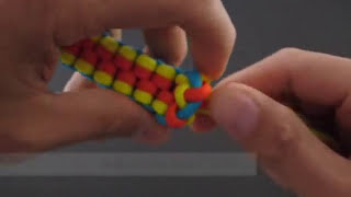getlinkyoutube.com-How to Make a Spectrally Clustered Crown Sinnet (Key Fob) by TIAT