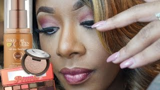 Watch Me Slay  | Rose Gold Spring Makeup Look #SweetPeach