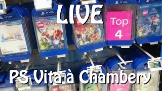 getlinkyoutube.com-[ LIVE ] A la recherche de Jeux PS VITA à Chambery