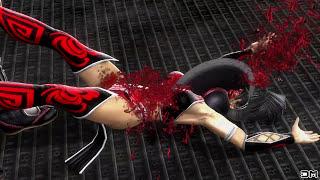 Mortal Kombat IX All Fatalities on Black Widow Costume Mod PC 4k UHD 2160p
