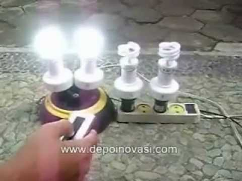 Fitting lampu remote