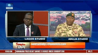 Amnesty Int'l Has Been Attacking The Very Fabric Of The Nation, Army Responds Pt.4 |Sunrise Daily|