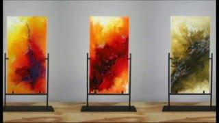 getlinkyoutube.com-Original Abstract Contemporary Modern Art Painting Technique by Igor Turovskiy