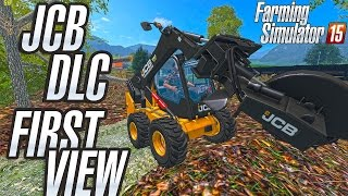 getlinkyoutube.com-Official JCB DLC Addon for FS15 - First view by senicadoo - what you get?