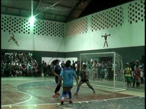 Final campeonato Futsal feminino Duas Barras RJ 2017