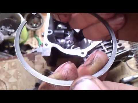 Как правильно установить компрессионные кольца.How to install the compression rings.