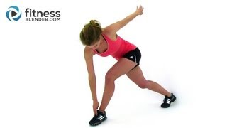 getlinkyoutube.com-Quick Sweat Cardio Workout to Lose Weight & Burn Belly Fat Fast