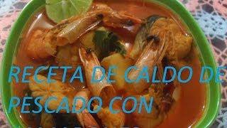 getlinkyoutube.com-RECETA DE CALDO DE PESCADO CON CAMARONES (LOS ANGELES COCINAN)