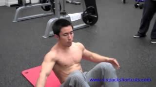 getlinkyoutube.com-3 دقائق مجنونة لتقسيم عضلات البطن